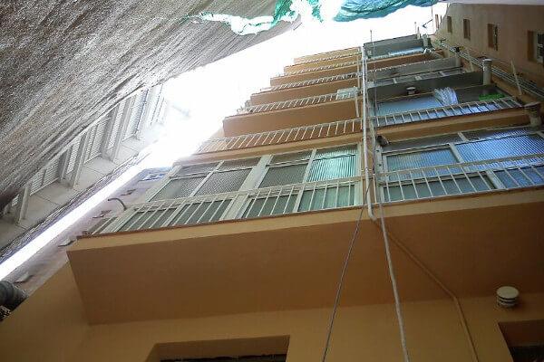 Rehabilitación fachada en Espronceda